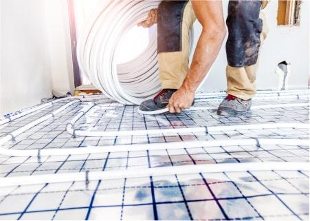 Installation et entretien de plancher chauffant près de Saint-Omer et Béthune